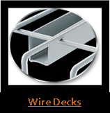 Wire Decking for Pallet Rack
