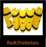 Pallet Rack Protection, Rack-Guards, Column Protectors, Parking Garage Protectors, Post Protectors